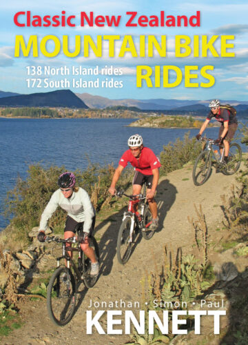 Classic NZ MTB Rides 8th edition 2011 cover v03