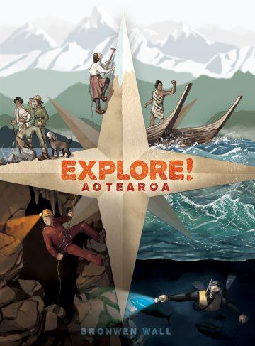 Explore! Aotearoa book cover