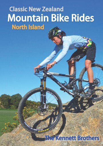 Classic New Zealand Mountain Bike Rides North Island (cover)