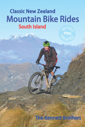 2017 Classic NZ MTB Rides South Island (front cover)