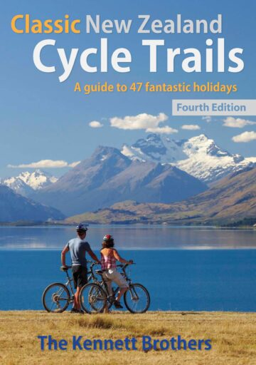 Classic NZ Cycle Trails 2018 front cover