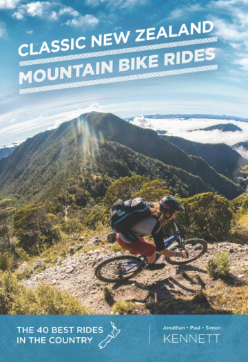 Cover of Classic New Zealand Bike Rides 10th edition