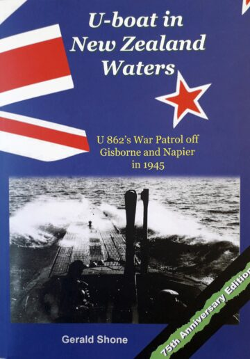 U-boat in New Zealand Waters (cover)