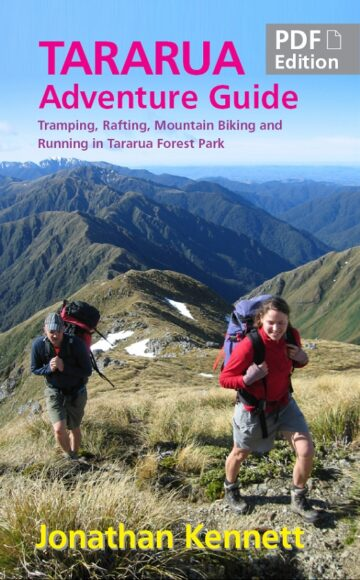 Tararua Adventure Guide PDF cover
