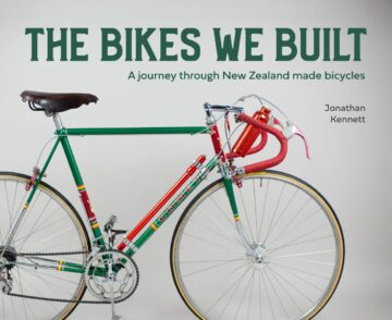Cover image of book: The Bikes We Built